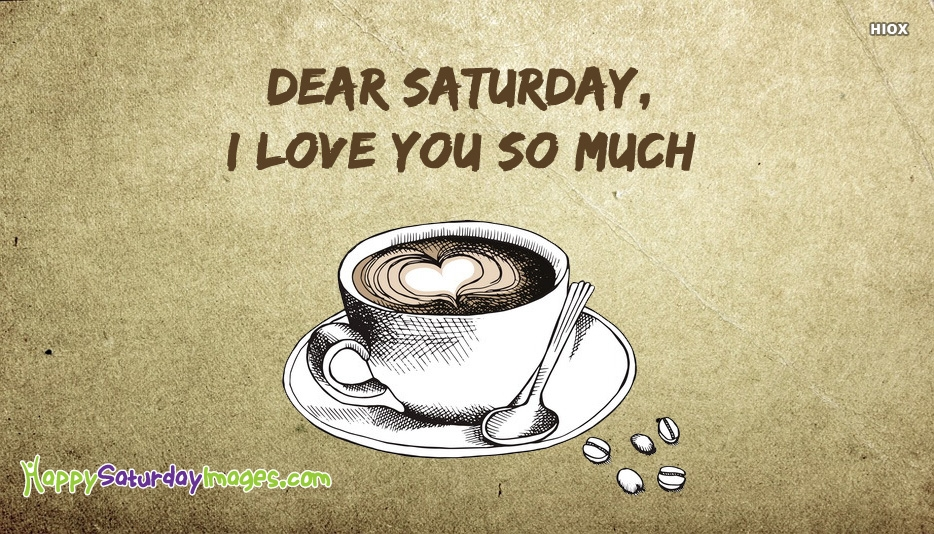 I Love You Saturday Images