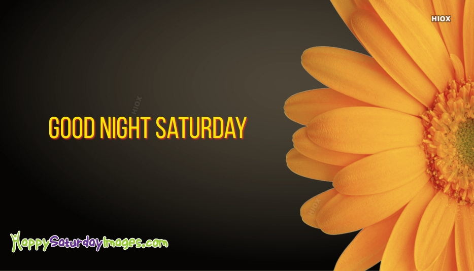 Happy Saturday Night Wishes Images