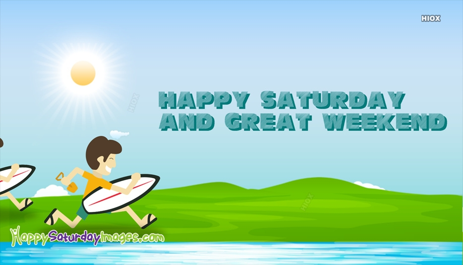 Happy Saturday Holiday Images