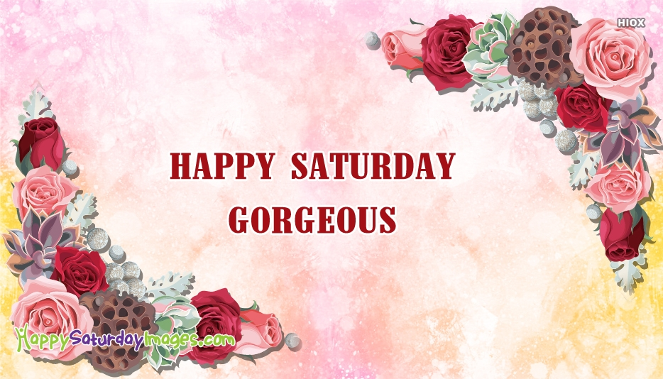 Happy Saturday Images for Greetings