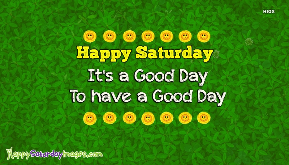 Happy Saturday Images for Saturday Morning