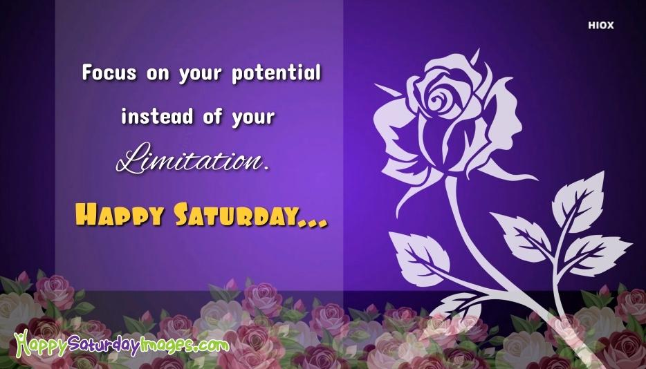 Happy Saturday Inspirational Quotes