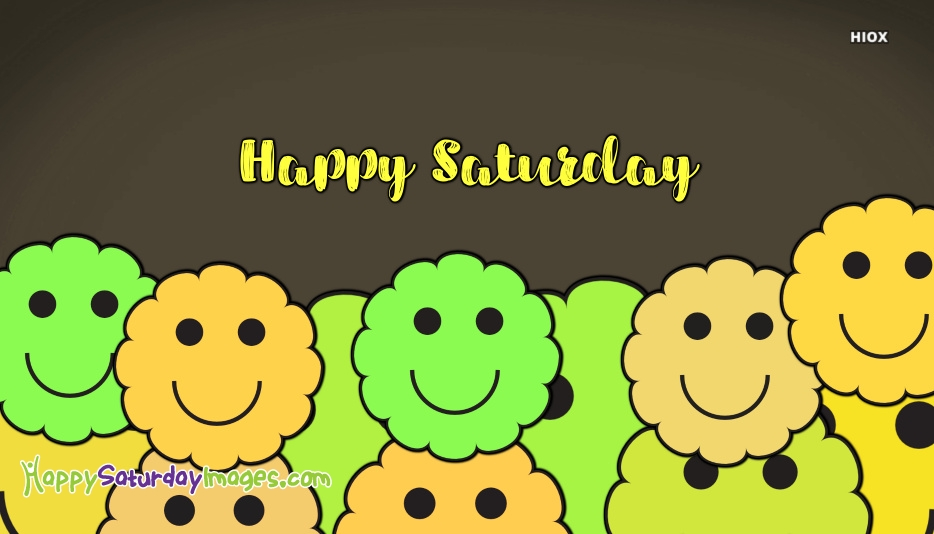 Happy Saturday Smiley