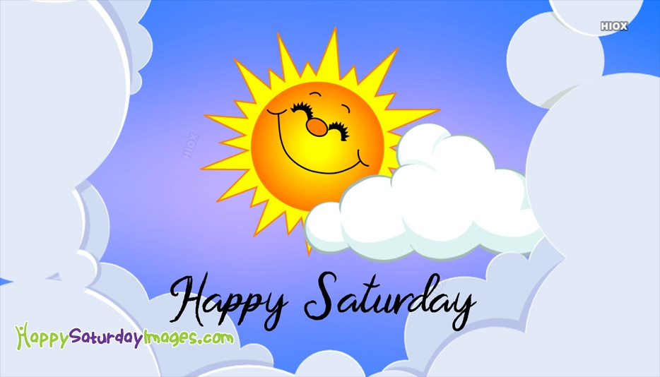 Happy Saturday Images for Sunshine