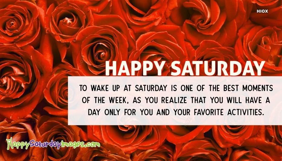 Happy Saturday Wishes