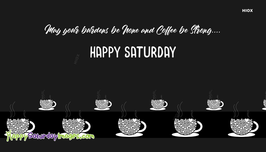 Happy Saturday Sms
