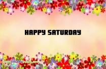 Happy Saturday Colorful