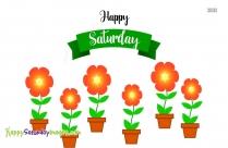 Happy Saturday Glitter Graphics