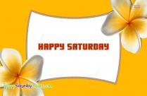 Happy Saturday Greeting