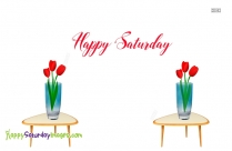 Happy Saturday Greeting