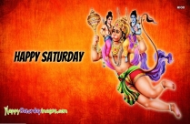 Happy Saturday Jai Hanuman