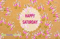 Happy Saturday Spring