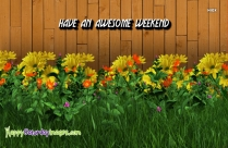 Have An Awesome Weekend Images