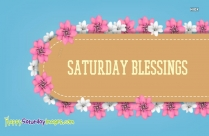Saturday Blessings Images