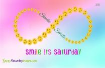 happy saturday smiley faces