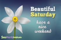 Happy Saturday Quotes for Friends